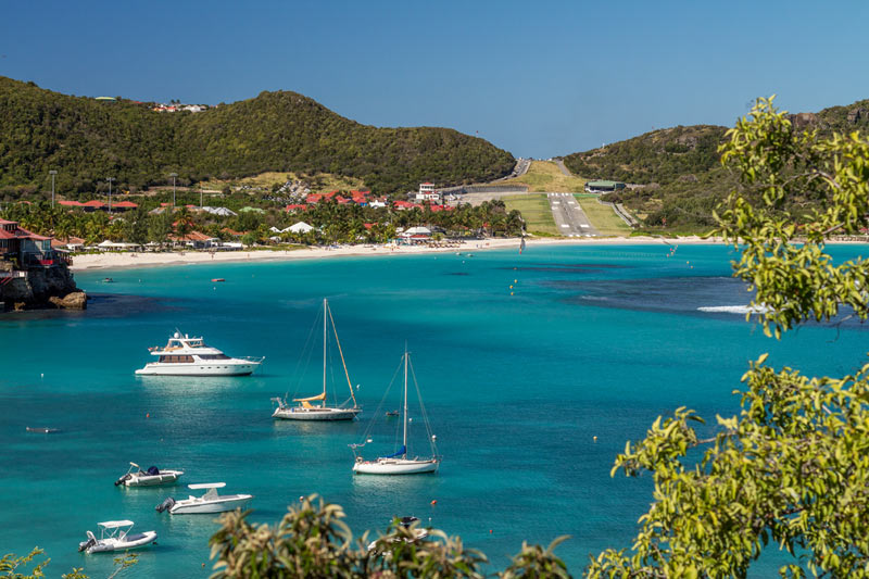 St. Jean and St. Barth airport