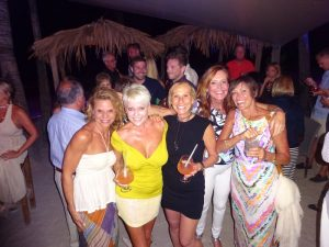 Dentists and friends in St Barth