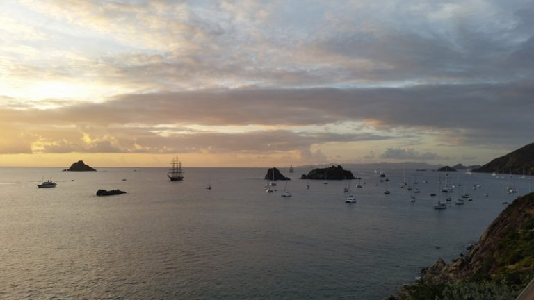 St. Barth Dental welcome party view